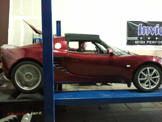 stock Lotus Elise 2zz Engine Dyno - May 2012